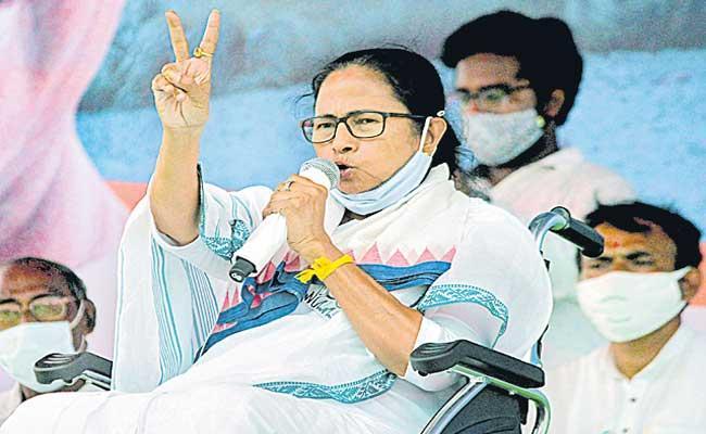 Second wave of COVID-19 is Modi-made disaster Says Mamata Banerjee - Sakshi