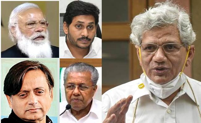 PM Narendra Modi Condolence To Sitaram Yechury Son Passed Away - Sakshi