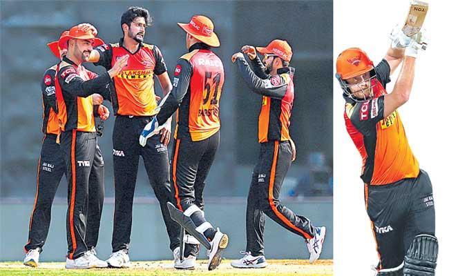 Sunrisers Hyderabad beat Punjab Kings by 9 wickets - Sakshi