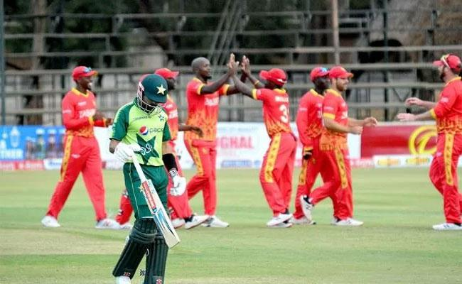 Zimbabwe Registers First Ever Win Against Pakistan In T20 Format - Sakshi