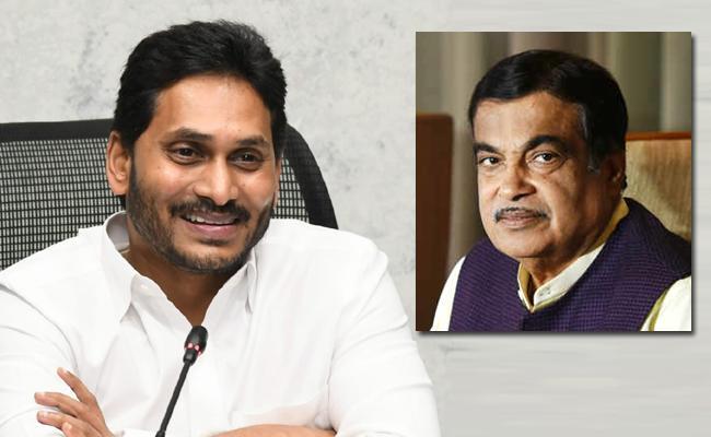 Union Minister Nitin Gadkari Thanks To AP CM YS Jagan - Sakshi