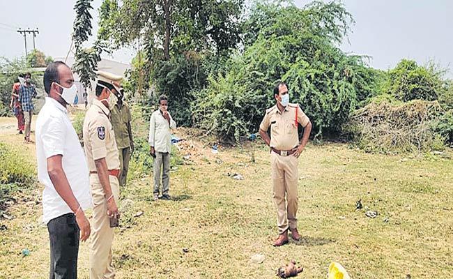 Body Exhumed Over Suspected Female Infanticide In Mancherial - Sakshi