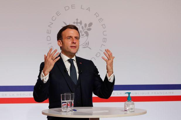 Covid 19: French President Macron Offers To Support India - Sakshi