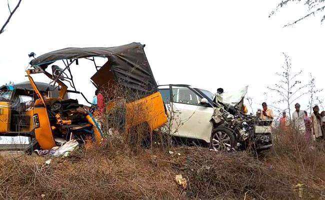 Road Accident At Guntur District - Sakshi