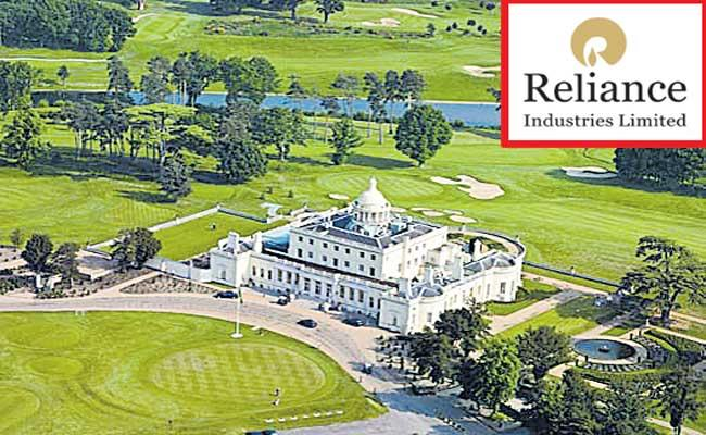 Reliance Industries buys Britain iconic country club Stoke Park - Sakshi