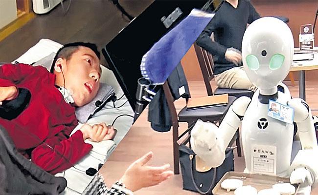 OriHime Robot Used For Disabled People In Japan - Sakshi