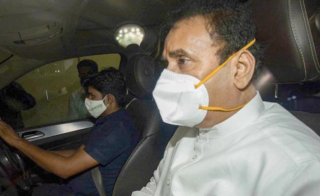 CBI FIR against Anil Deshmukh, conducts searches - Sakshi