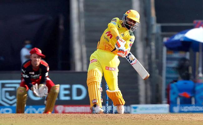 IPL 2021: Ravindra Jadeja Terrific Innings In Last Over Got 37 Runs - Sakshi