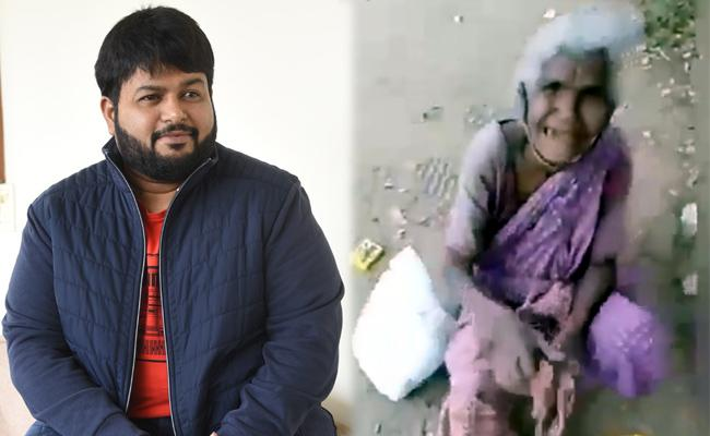 Music Director SS Thaman Emotional Over This Viral Video - Sakshi