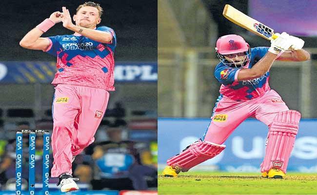Rajasthan Royals Beat Kolkata Knight Riders by Six Wickets - Sakshi