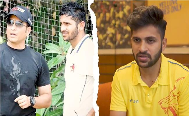 IPL 2021: Shardul Reveals The Golden Advice Received From Sachin - Sakshi