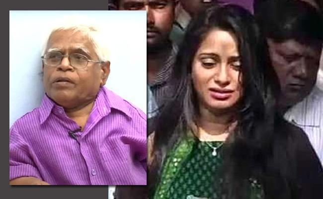 Anchor Udaya Bhanu Emotional Post On Actor Potti Veeraiah Death - Sakshi