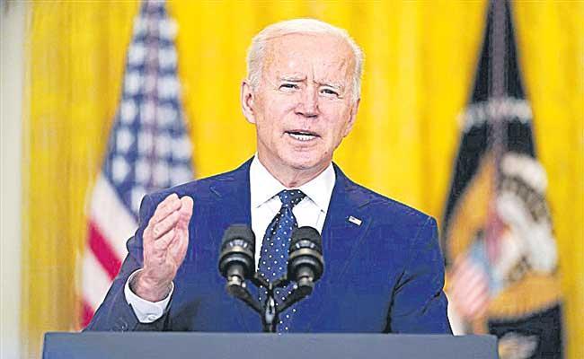 USA President Joe Biden pledges support to PM Modi on vaccine inputs - Sakshi