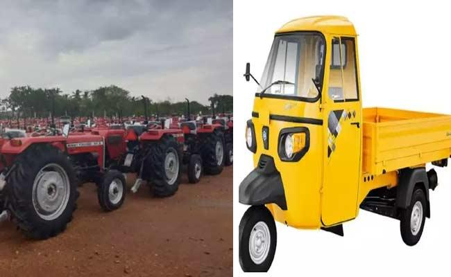 Commercial And Agricultural Vehicle Sales Increased In AP - Sakshi