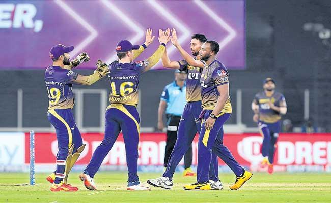 Kolkata Knight Riders beat Punjab Kings by 5 wickets - Sakshi