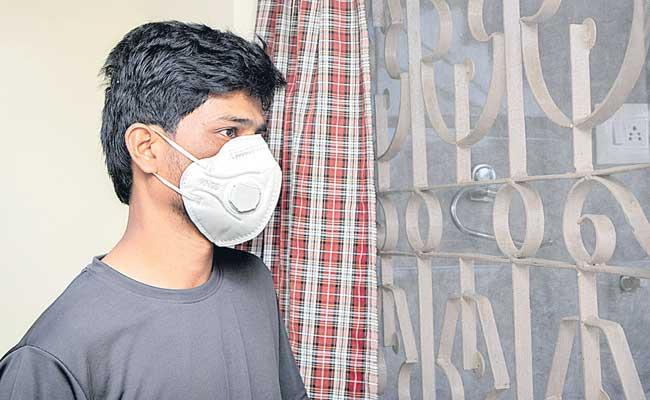 COVID-19: Time to wear mask even inside your homes - Sakshi