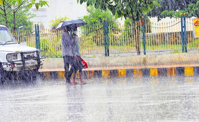 Two days of moderate rains in AP - Sakshi