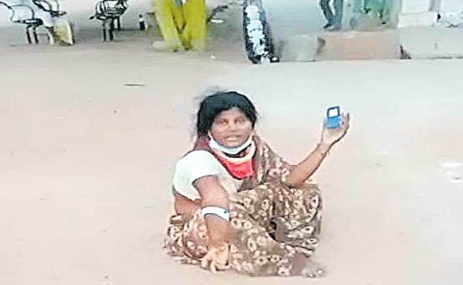 Deceased Corona Patient Video Going Viral In Nirmal District - Sakshi