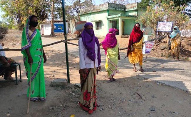 This MP Village Has Zero Covid Cases As Women Take Charge - Sakshi