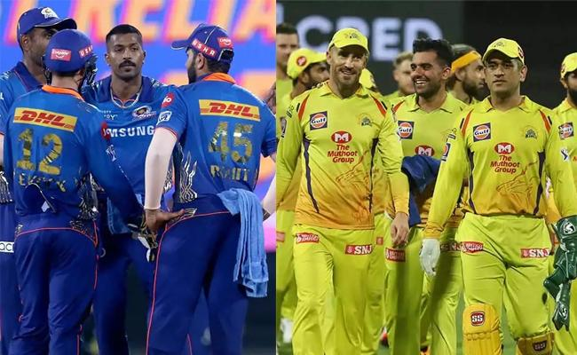 IPL 2021:CSK Placed Second For Winning Percentage Of An Opponent - Sakshi