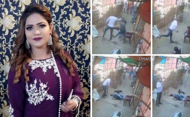 Eight month pregnant drug queen shot dead by fourth husband in Delhi - Sakshi