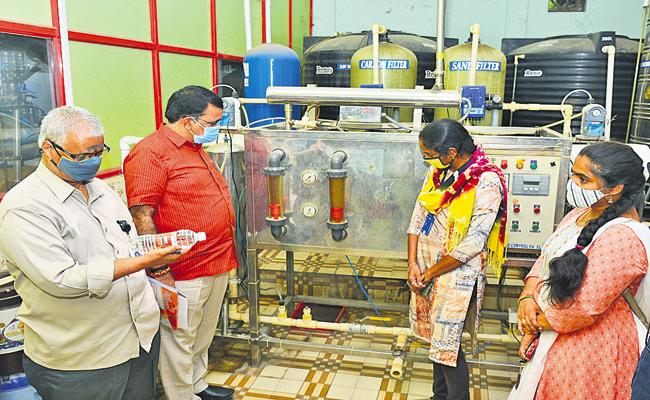 Extensive inspections across AP On Unauthorized Water Plants - Sakshi