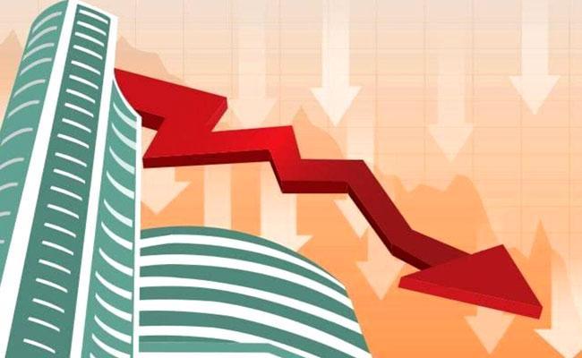 Market Update Sensex Falls 354 Points Nifty Trading Below 14,850 - Sakshi