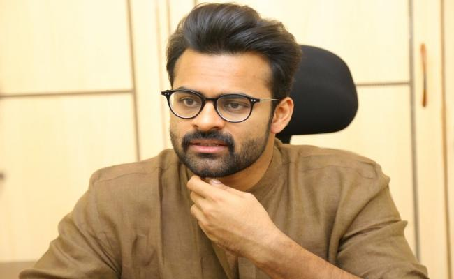 Sai DharamTej Approached Police About Money Issue - Sakshi