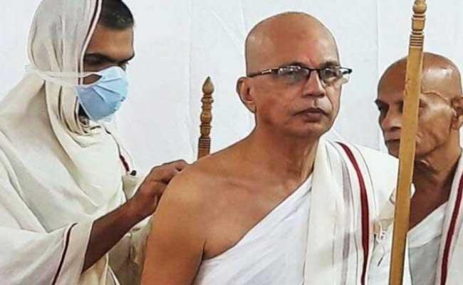 Prakash Shah Took Jain Ascetic - Sakshi