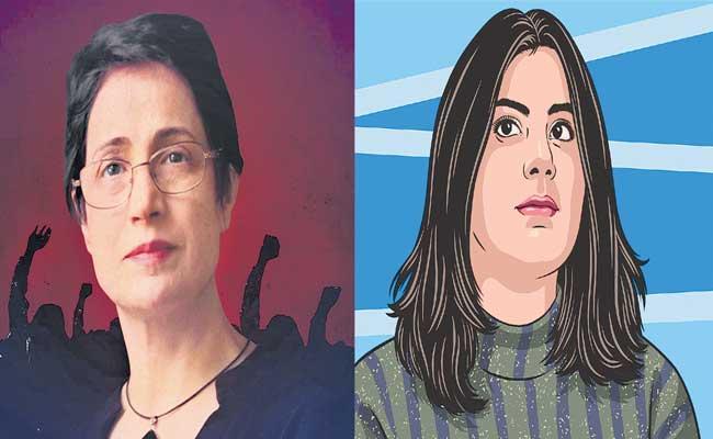 Human rights activists Nasrin Sotoudeh, Lozine Alhatloul special story - Sakshi