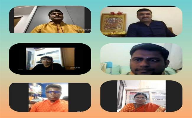 Sri Ramayana Jayamantram Program Organized Telugu Society Of Singapore - Sakshi