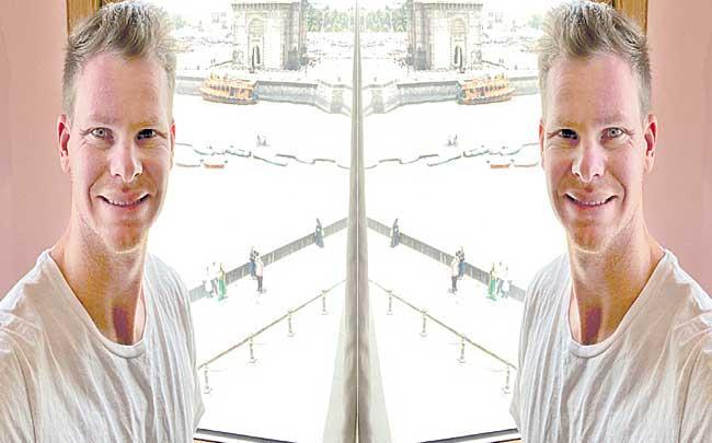 Steve Smith reaches Mumbai to join Delhi Capitals, will serve seven-day quarantine - Sakshi