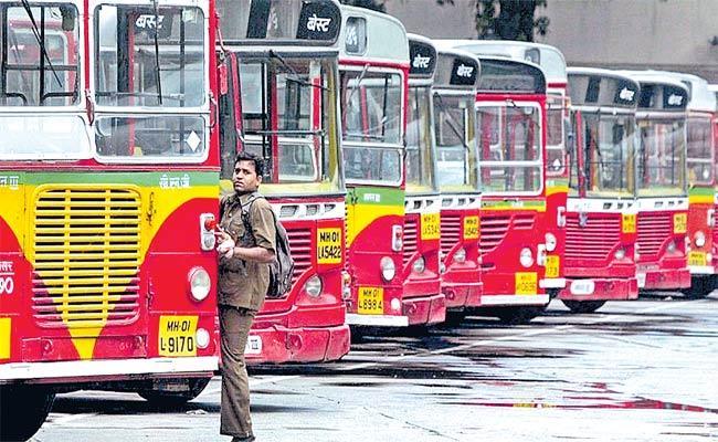Mumbais BEST Employees Get Salaries In Coins - Sakshi