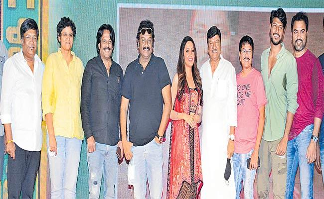 Kona Venkat Comments On CM YS Jagan At  Galli Rowdy First Look Launch - Sakshi