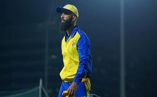 IPL 2021: Moeen Ali Tells Wont Wear Logo Of Alcohol Brand On CSK Jersey - Sakshi