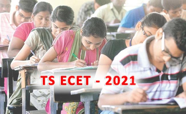TS ECET 2021: Application Form, Exam Dates, Registration, Exam Pattern - Sakshi