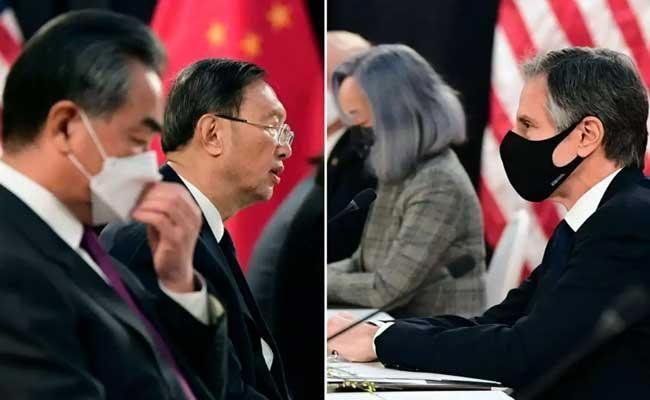 China Slams America Says Oppose Taking Superior Position Global Affairs - Sakshi