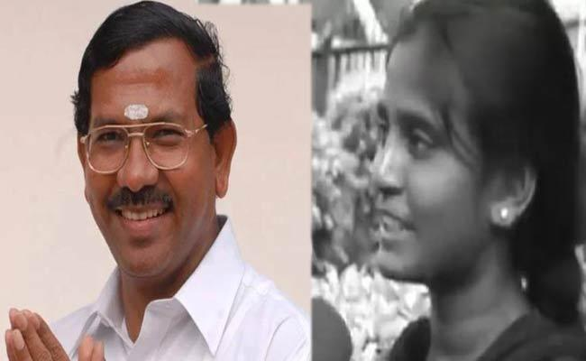 Pandiarajan For Shares Deceased NEET Aspirant Police Complaint Filed - Sakshi