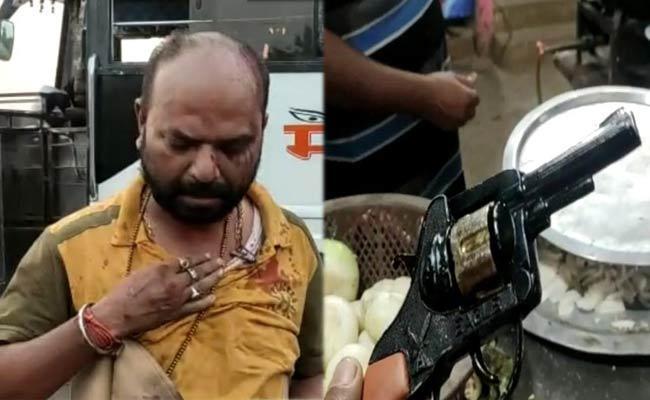 Movie Worker Pradeep Saini Injured shooting In Sompeta - Sakshi