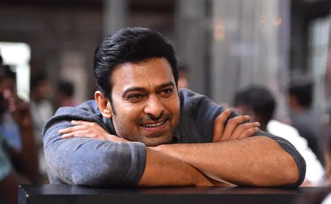 Prabhas Took Permission From His Father Before Acting In A Kiss Scene - Sakshi