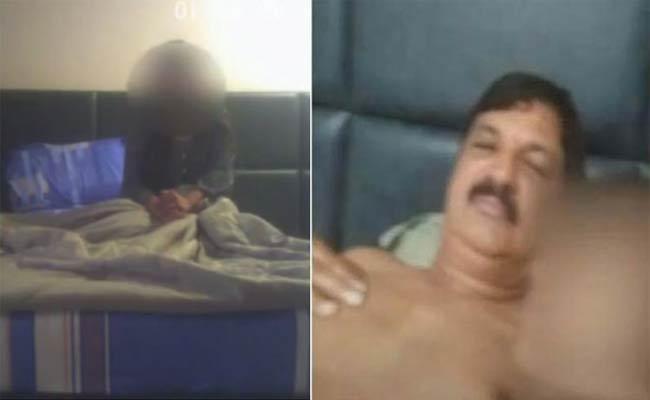 Ramesh Jarkiholi Tested Positive Covid 19 Avoided Appears Before SIT - Sakshi