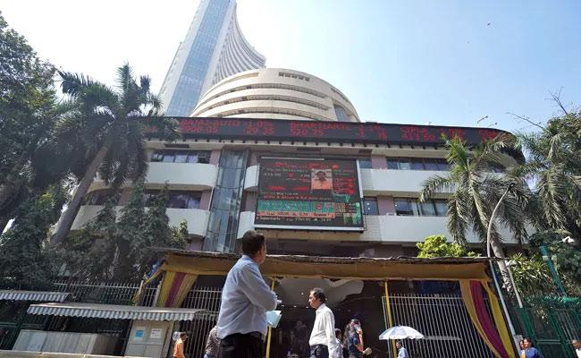 Sensex Ends 460 Points Higher, Nifty Above 14,800 Post RBI Policy - Sakshi
