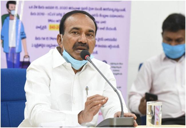 Telangana Health Minister Etela Rajender Speaks About Coronavirus Treatment And Precautions - Sakshi