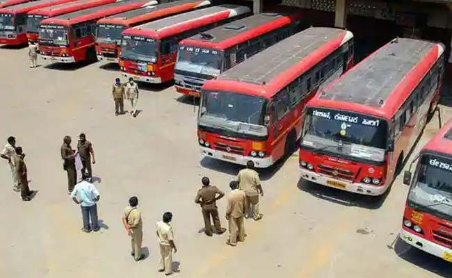 KSRTC Strike Government Warns Workers Allows Private Buses - Sakshi