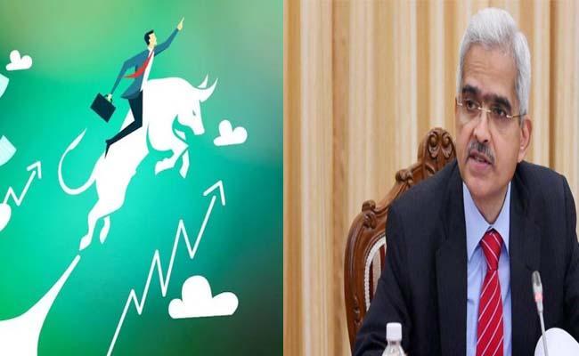 RBI policy review : Sensex extends gains  - Sakshi