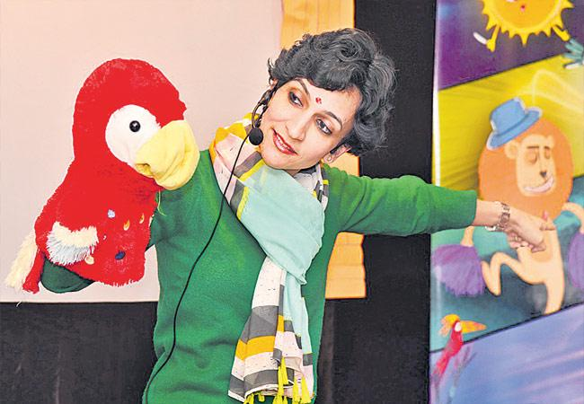 Tickling Tales Story Telling For Childrens By Doctor Swetha - Sakshi