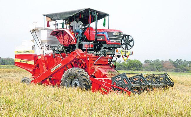 Telangana: Record Paddy In This Yasangi - Sakshi