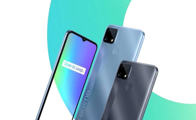 Realme Launched C Series Budget Smartphones in India - Sakshi