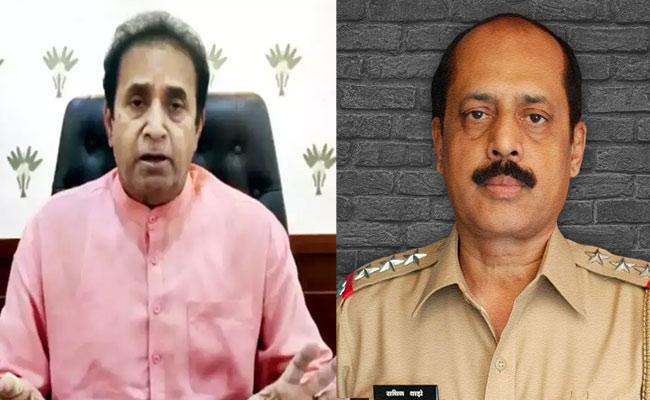 Anil Deshmukh Demanded Rs 2 crore: Sachin Waze to NIA - Sakshi