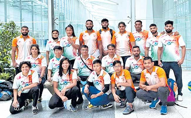 Indian Judo Team Withdraws From Olympic Qualifiers - Sakshi